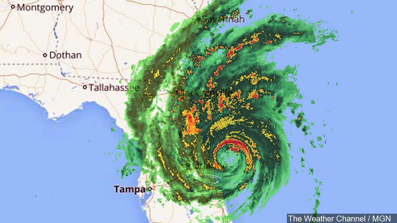 Hurricane matthew date