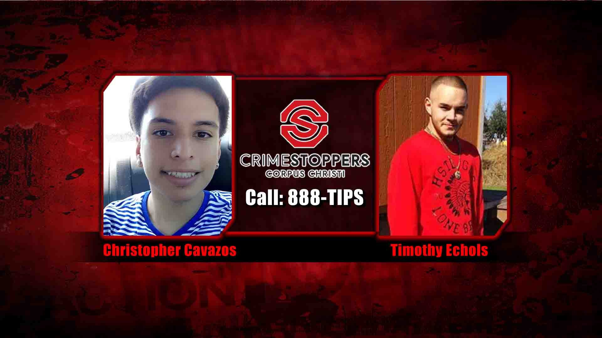 crime of the week two men wanted by cops kztv10