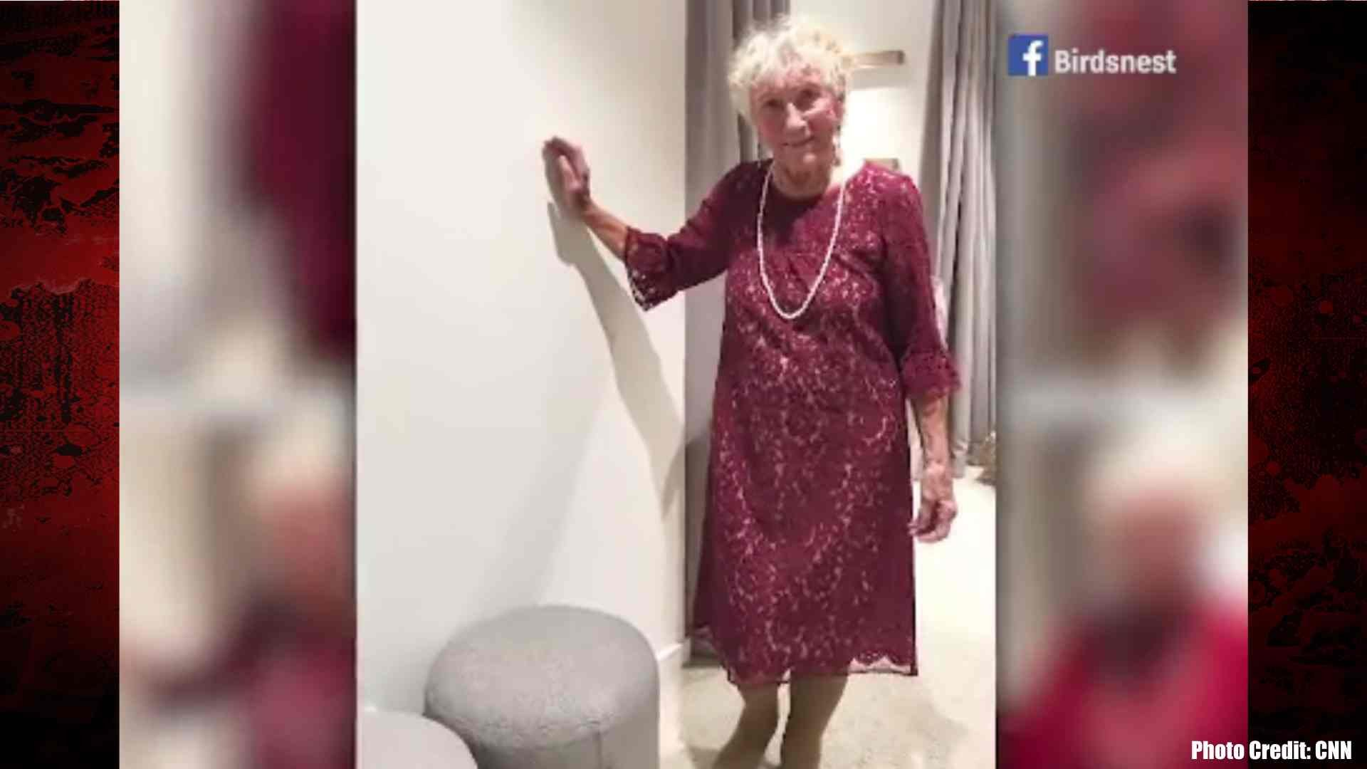 Slyvia Martin 93 Turned To The Internet Help Pick Her Wedding Dress