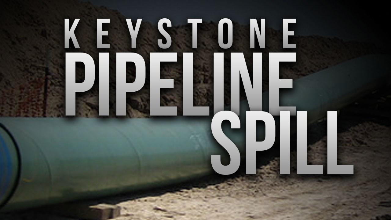 Keystone pipeline leaks 210K gallons of oil in South Dakota ...