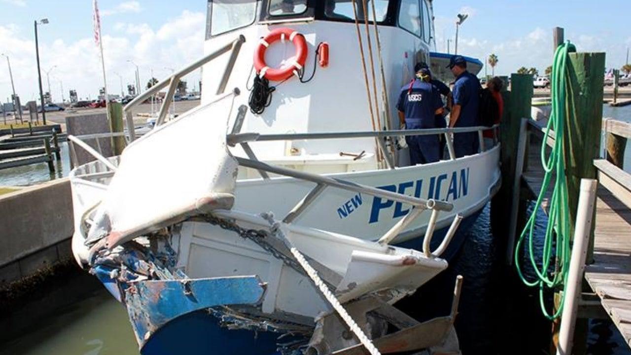 Charter Boat Hits Vessel Near Port Aransas