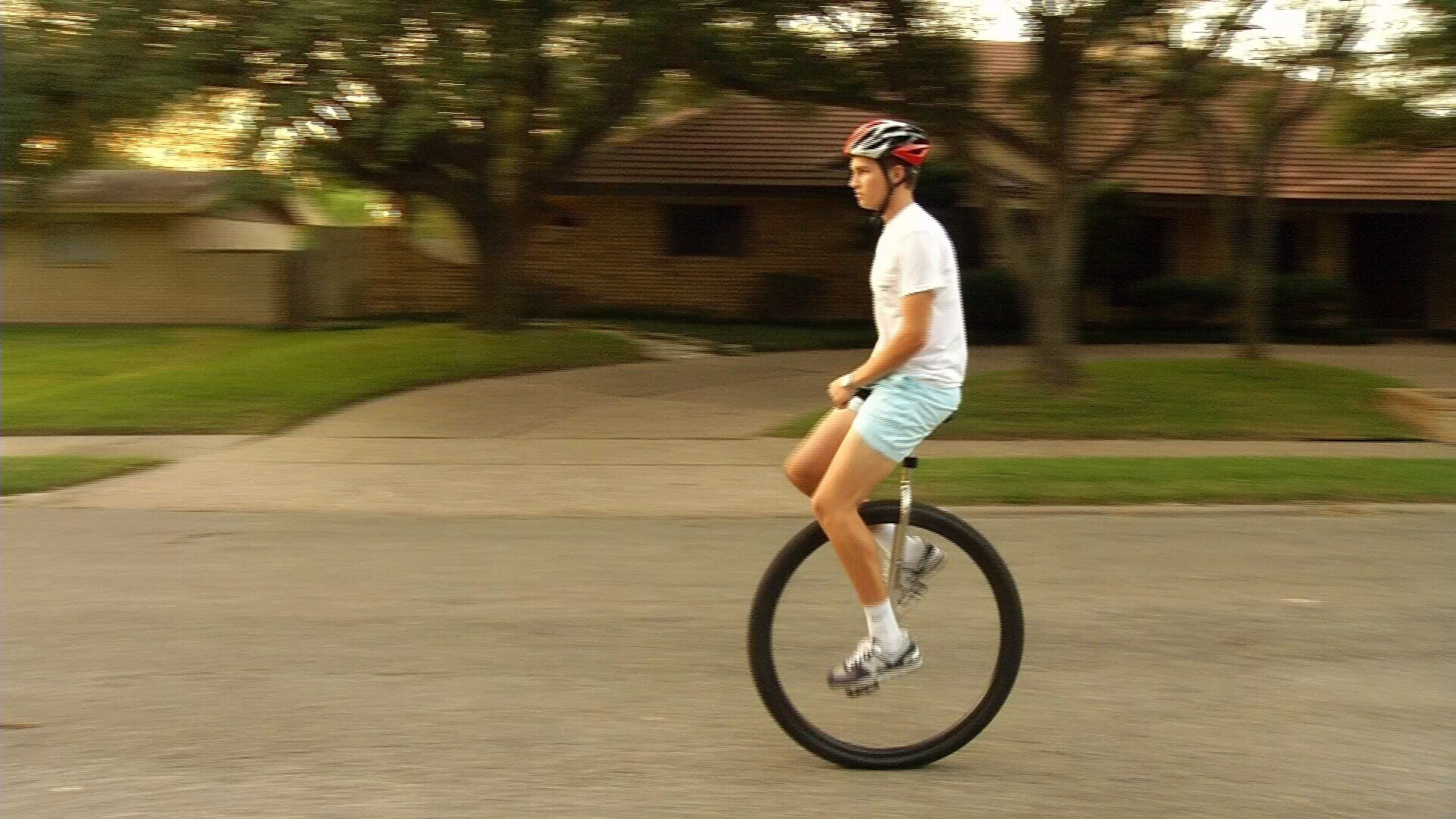 Teen Will Ride 25 Miles On A Unicycle For A Good Cause