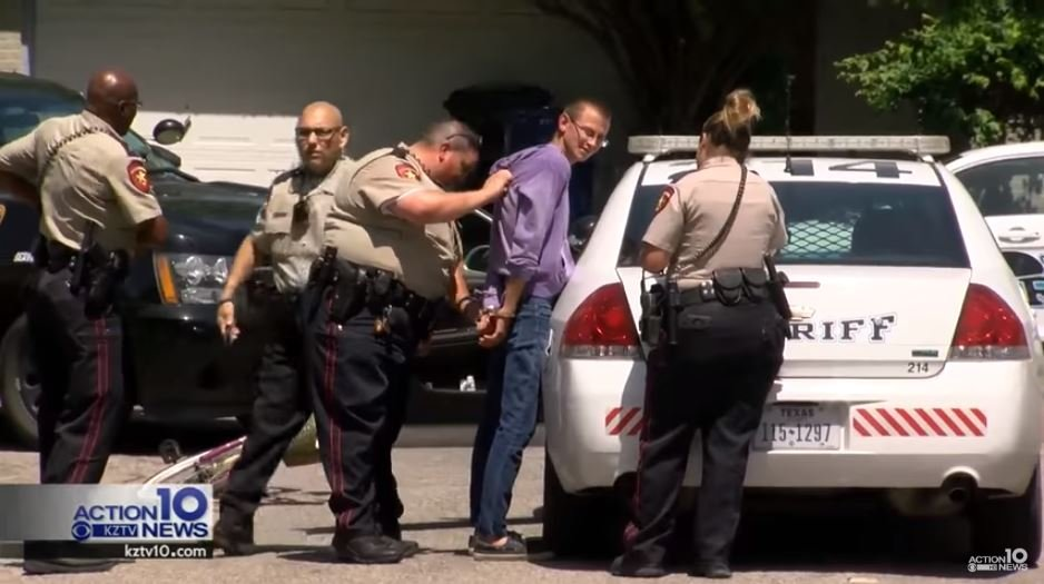 Man who escaped County Sheriff's custody was recaptured riding girl's bike.